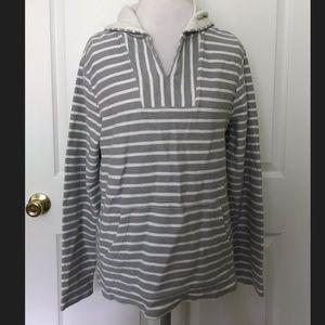 Cute Old Navy Gray/White Sweatshirt